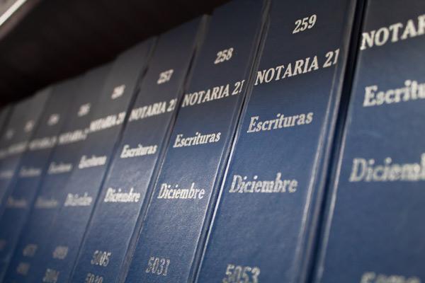 Copias de escrituras públicas